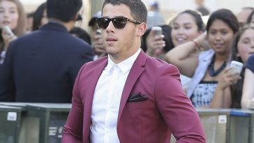 Nick Jonas arrives at the 16th Annual Young Hollywood Awards in Koreatown, California