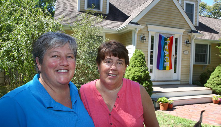 Natick, Mass., Neighborhood Reponds To Gay Couple Being Targeted