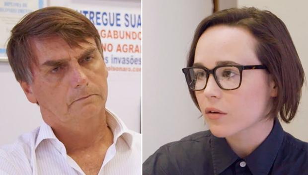 ellen-page-jair-bolsonaro-gaycation