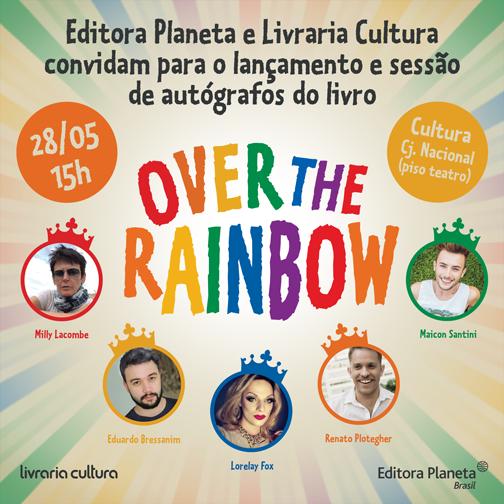 Over the Rainbow autografos
