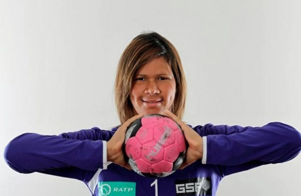 Mayssa Pessoa, goleira de hadball pelo Brasil
