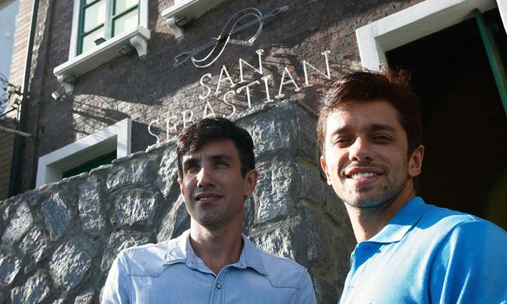 André Gagliano e José Augusto Vasconcelos, donos da San Sebastian