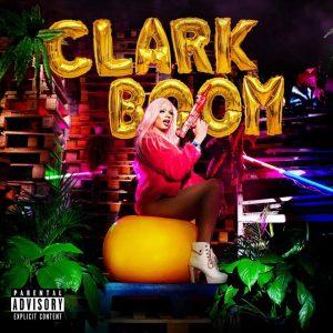 "Capa do EP ""Clark Boom""."