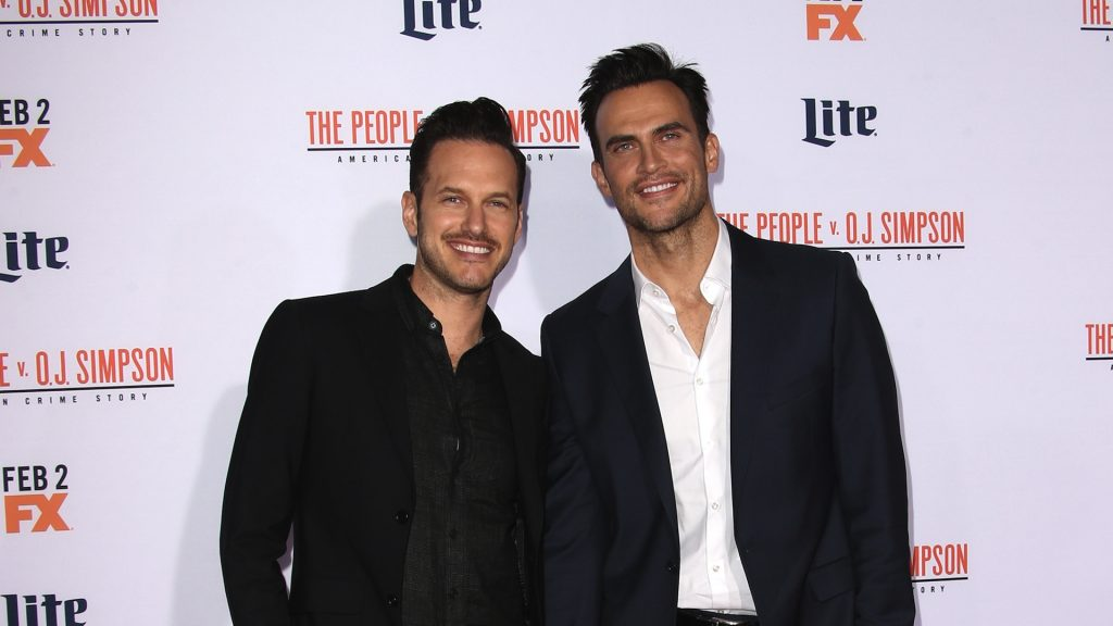 "Premiere Of ""FX's ""American Crime Story - The People V. O.J. Simpson"" Featuring: Cheyenne Jackson, Jason Landau Where: Los Angeles, California, United States When: 27 Jan 2016 Credit: FayesVision/WENN.com"