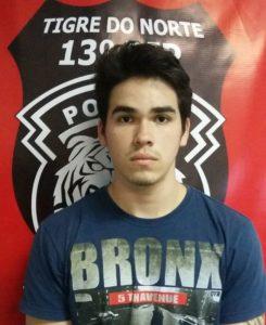 Laerte Rodrigues Caxeixa Neto, de 20 anos.