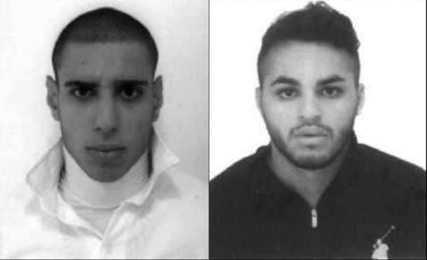 Alípio Santos e Ricardo Martins, que estão presos após morte de ambulante.